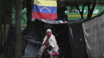 Venezolanos varados