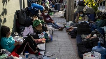 Venezolanos devastados