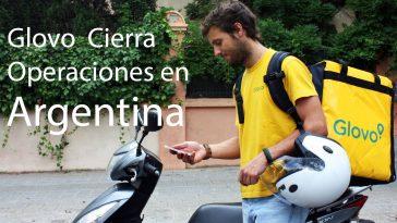 Glovo cierra operaciones en Argentina